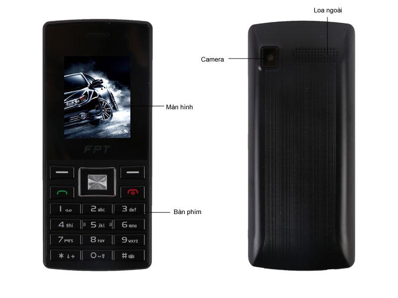 Điện thoại di động FPT B19 (Black-Blue)