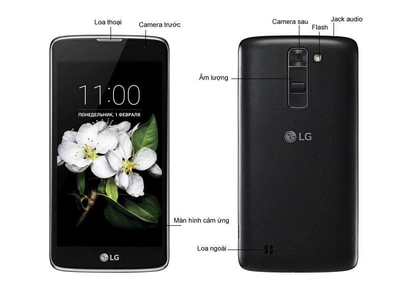 LG K7 X210 - Trắng