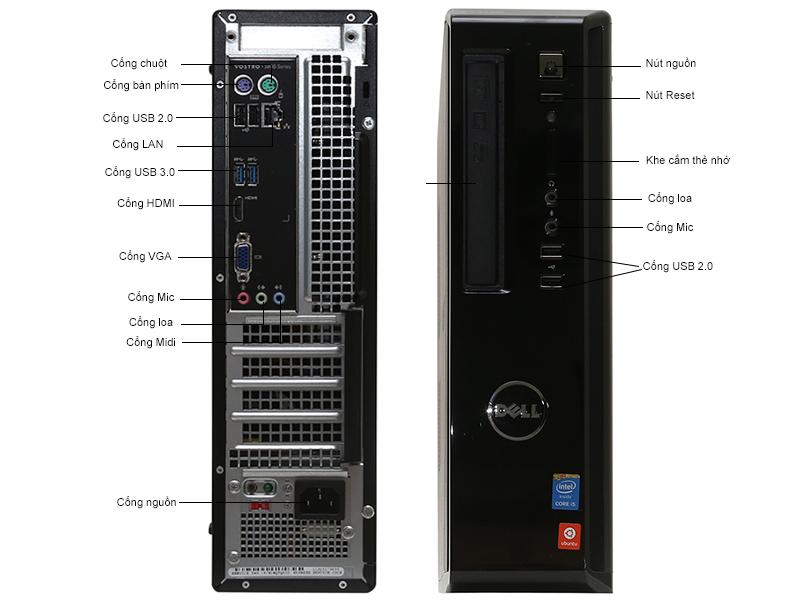 Máy tính để bàn Dell Vostro V3800STI33950