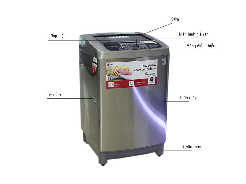 Máy giặt LG WFD1217DD
