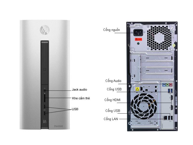 Máy tính bàn HP Pavilion 550-160L