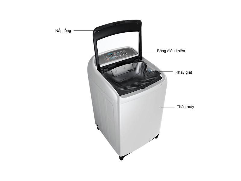 Máy giặt Samsung WA85J5712SGSV