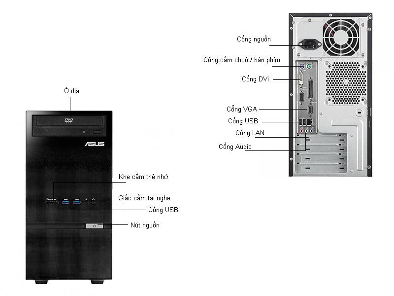Máy tính để bàn Asus D310MTI747900050