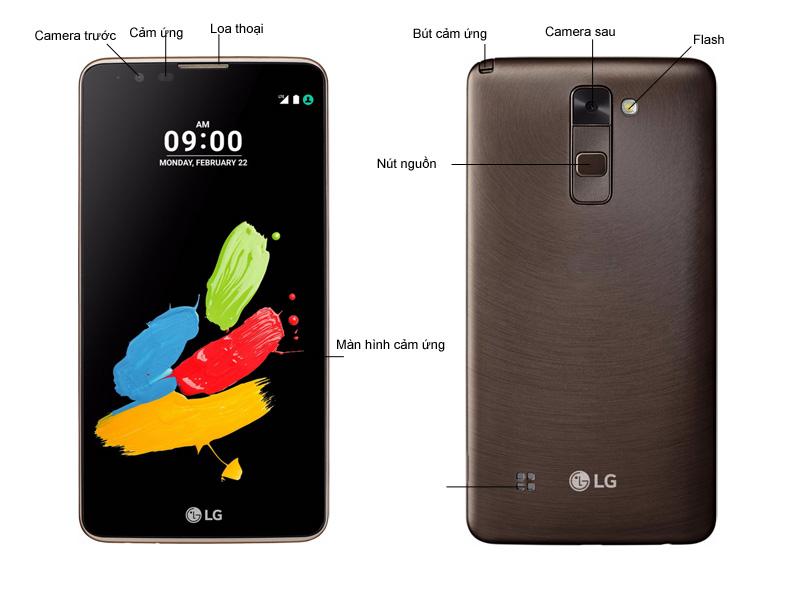 ĐIỆN THOẠI LG STYLUS 2 LGK520BR - Brown