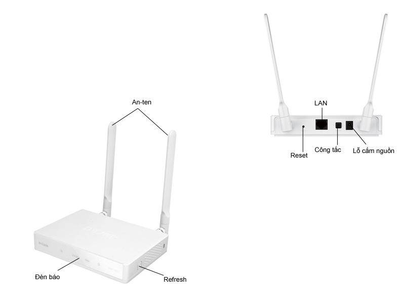 Bộ phát sóng không dây DAP1665