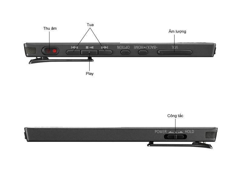 Máy ghi âm Sony ICDTX650