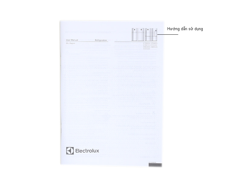 Tủ lạnh Inverter Electrolux ETB5702AA - Màu bạc