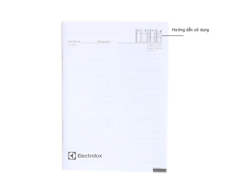 Tủ lạnh Inverter Electrolux ETE4600AA - Màu bạc