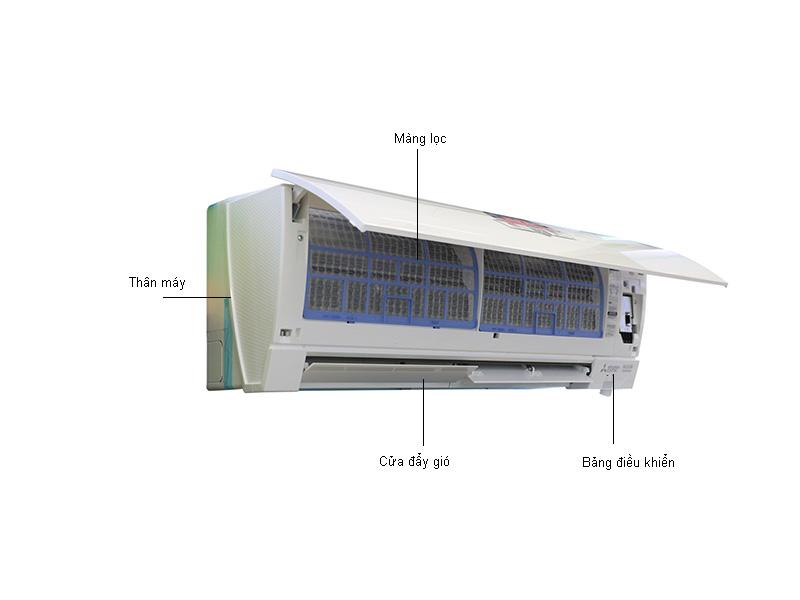 Điều hòa 2 chiều Inverter Mitsubishi - MSZFM35VA