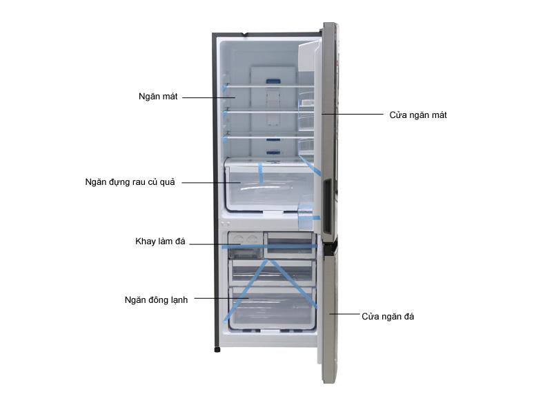 Tủ lạnh Inverter Electrolux EBB3500MG