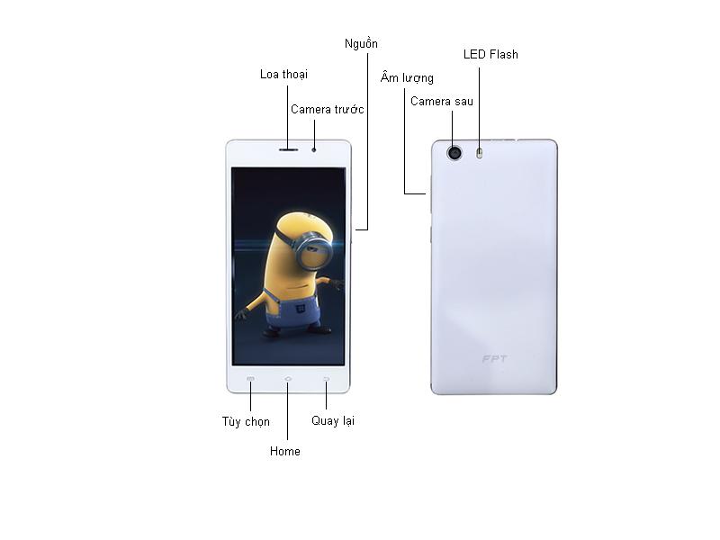 Điện thoại FPT X506G - Màu vàng