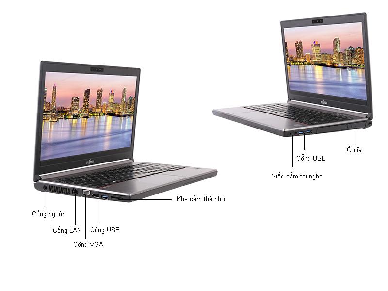 Laptop Fujitsu Lifebook E756-6200U
