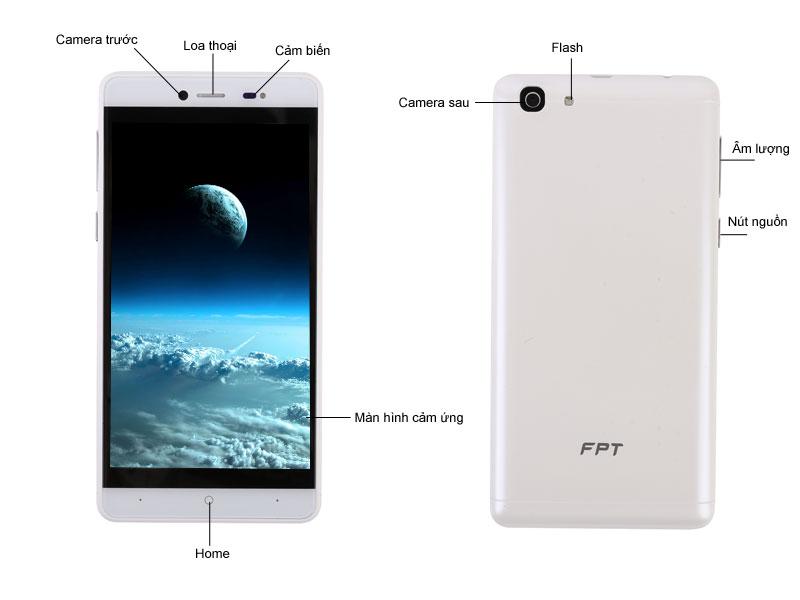 Điện thoại FPT X505 - Màu vàng kim