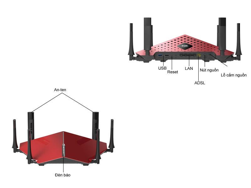Bộ phát wifi không dây Dlink DIR890L