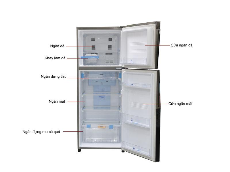 Tủ Lạnh Aqua AQRIP255ANDC 252 Lít Inverter