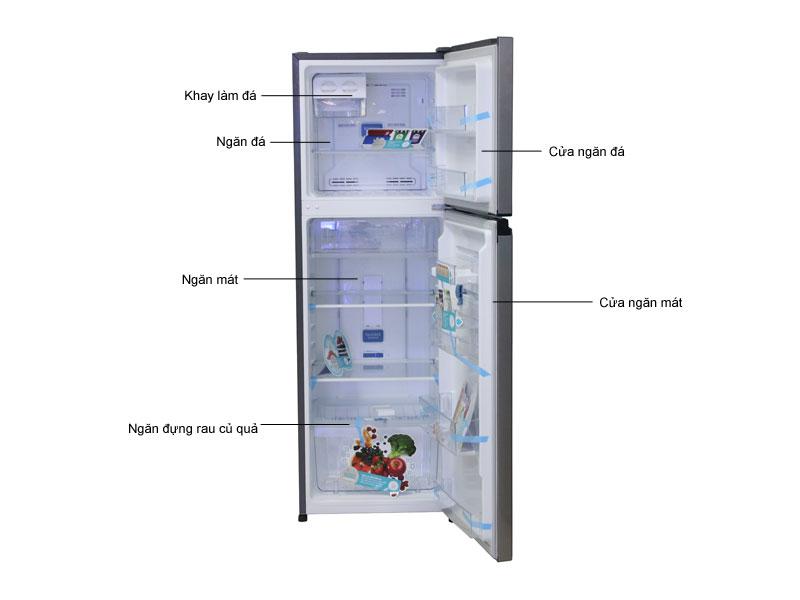 Tủ lạnh Inverter Electrolux ETB2600MG