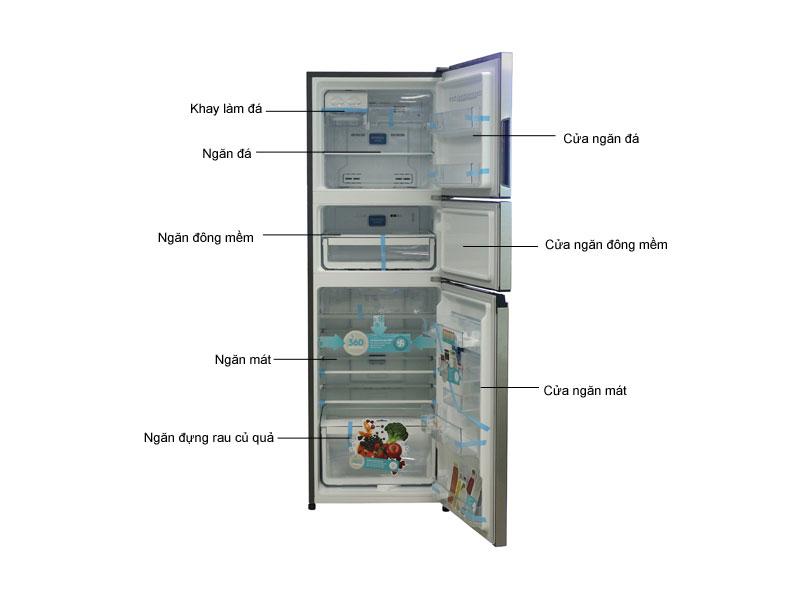 Tủ Lạnh Inverter Electrolux EME3500MG