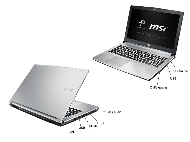 Laptop Game MSI PE60 6QD-879XVN