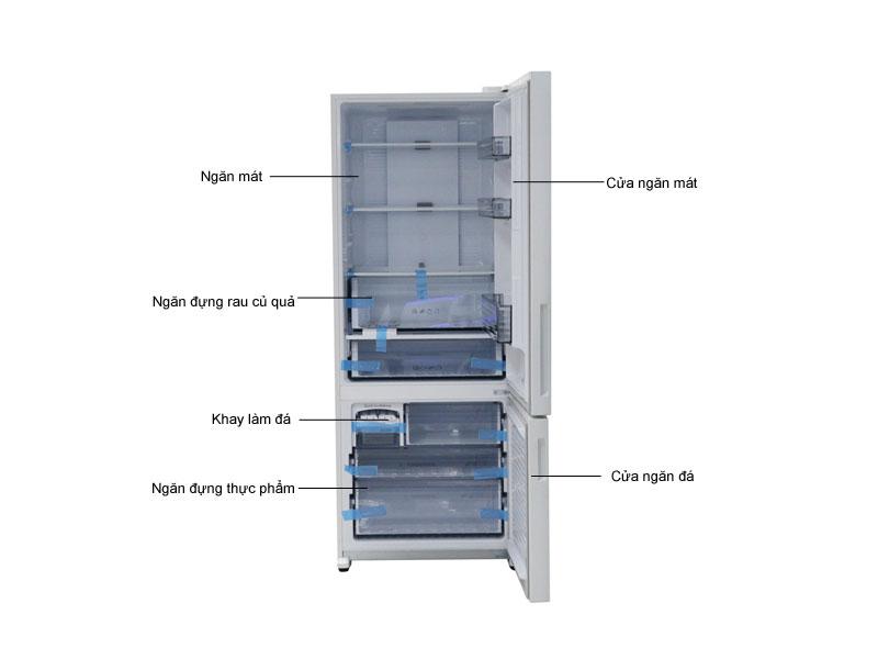 Tủ lạnh Panasonic NRBX468GWVN - Màu trắng