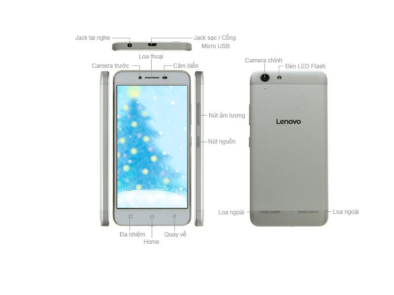 Điện thoại Lenovo Vibe K5 LNA6020G - Màu vàng kim