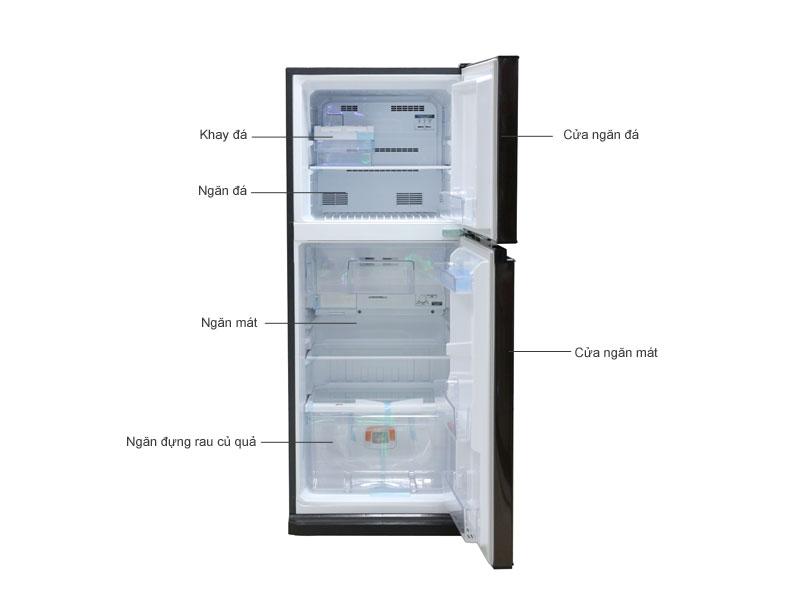 Tủ Lạnh Mitshubishi MRFV24JBRV 204 lít