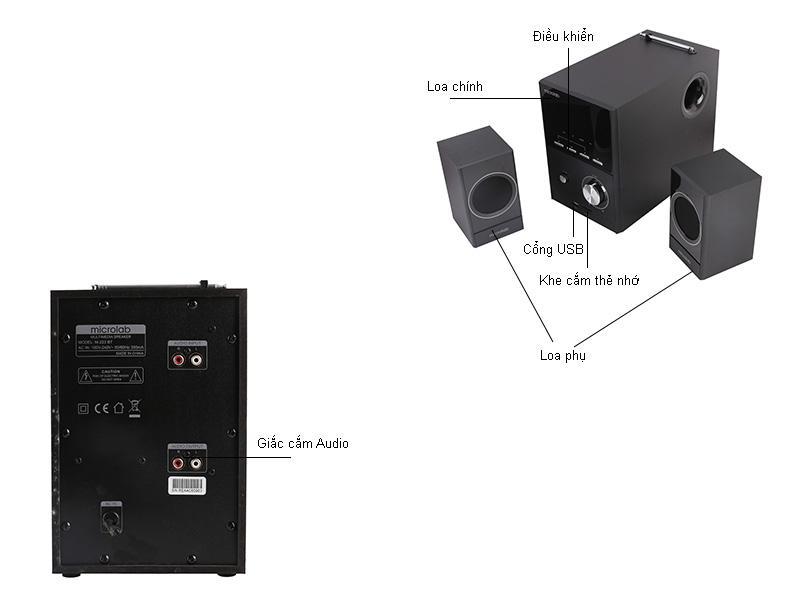 Loa vi tính Microlab M223BT