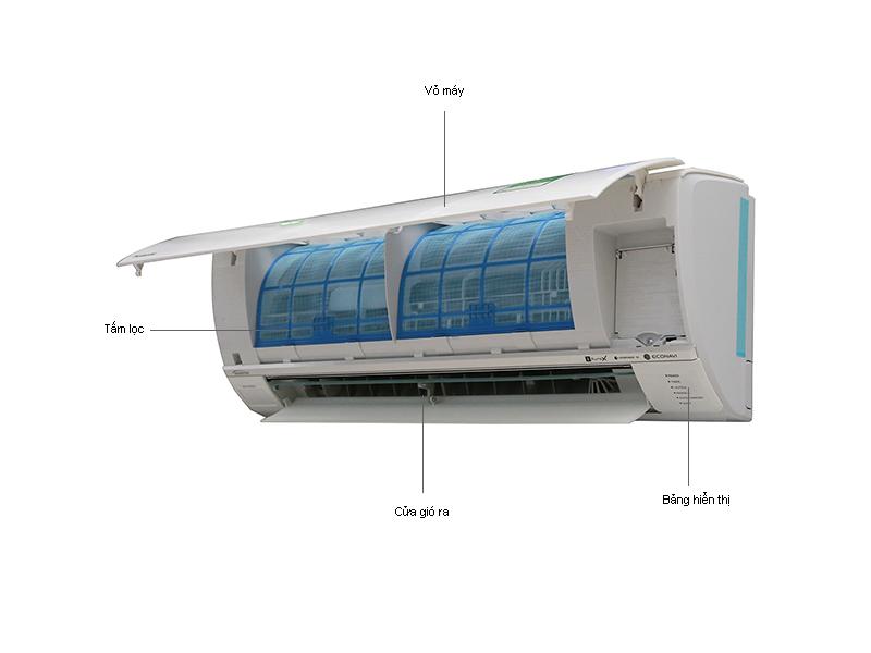 Điều hòa 1 chiều inverter Panasonic CSU18SKH8