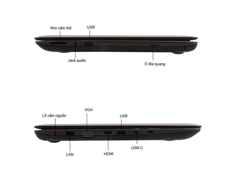 Laptop Asus A456UA-WX034D - Màu vàng