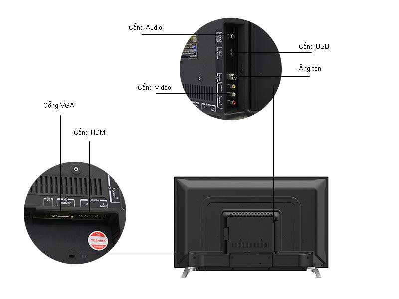 Tivi Led Toshiba 43L3650