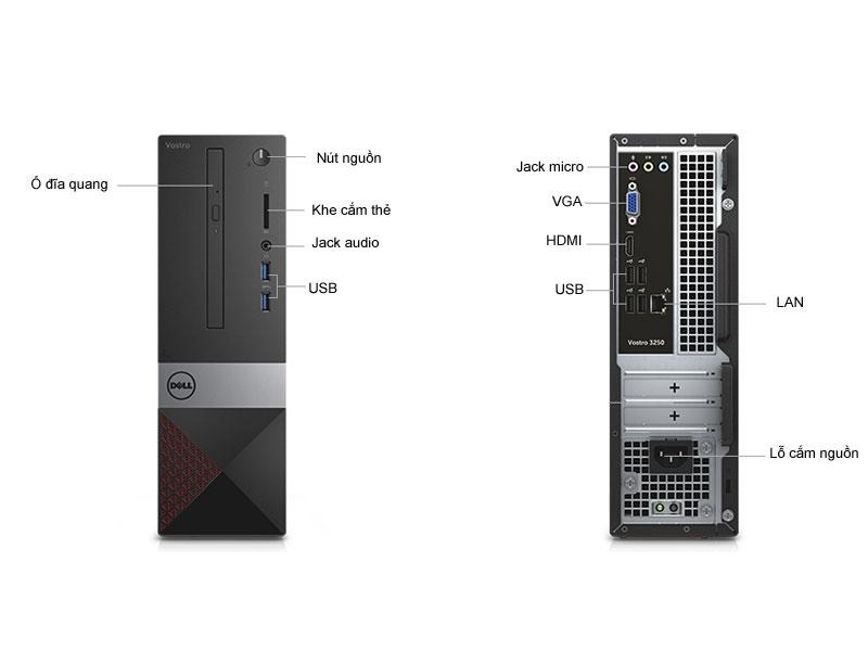 Máy tính để bàn Dell Vostro 3250