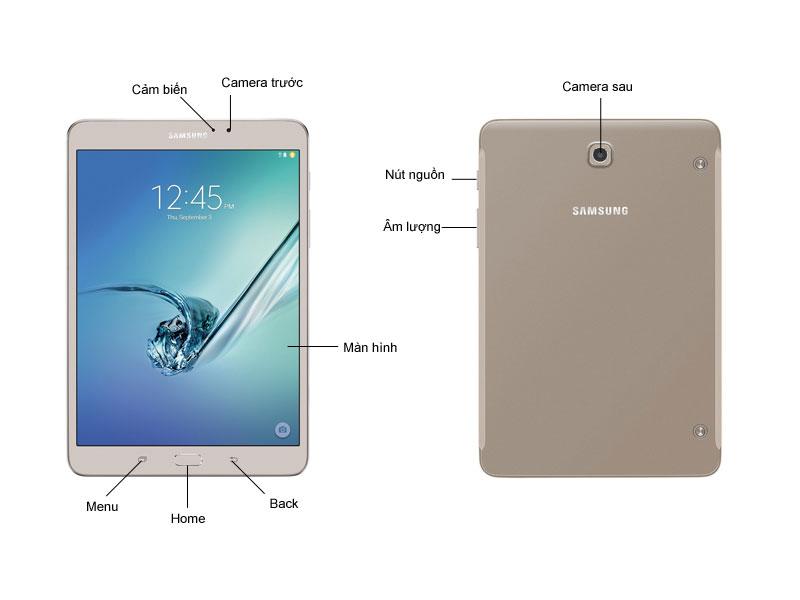 Máy Tính Bảng Samsung T719 - Màu Vàng kim