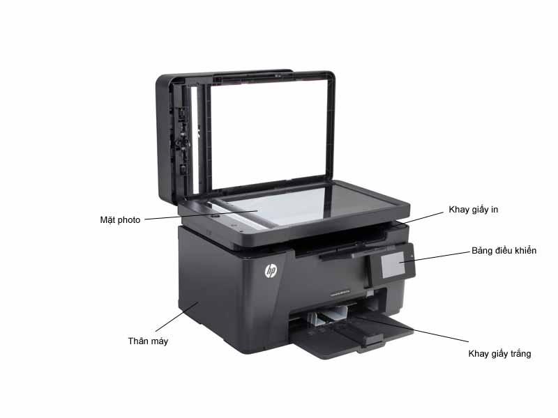 Máy in HP LaserJet Pro M127FW