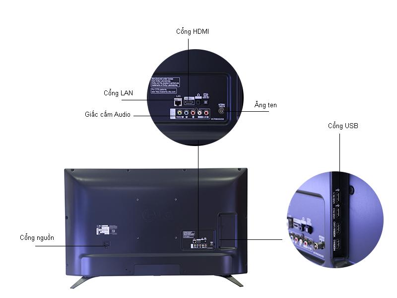 TIVI LED LG 43LH605T