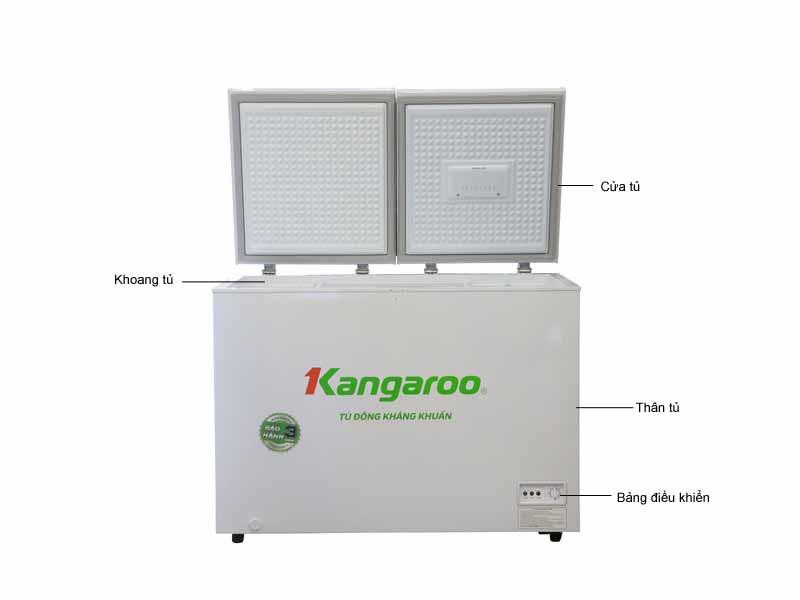 Tủ đông Kangaroo KG388C1