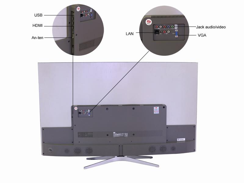 TIVI LED 3D TCL 55C1UC