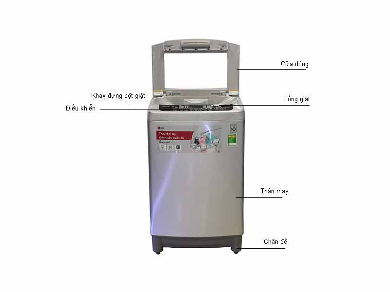 Máy giặt LG WFD1117DD