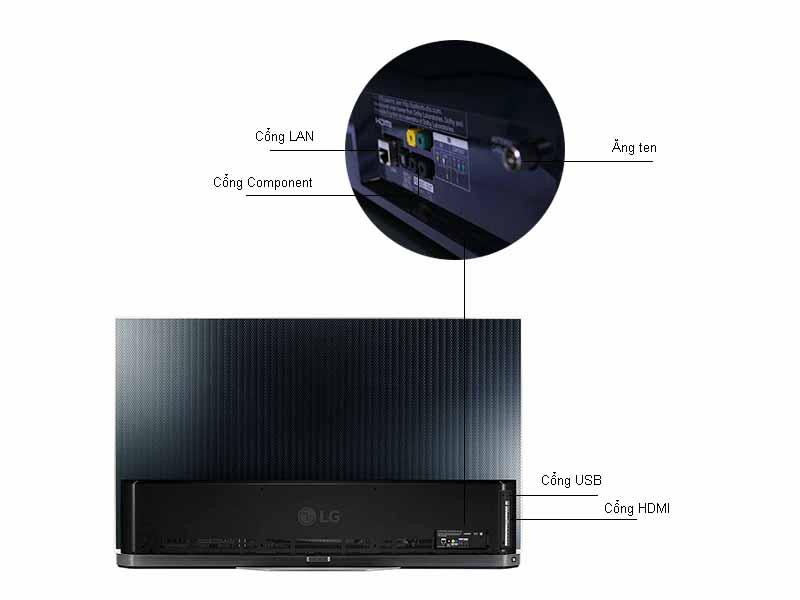 Tivi 3D LG OLED65E6T