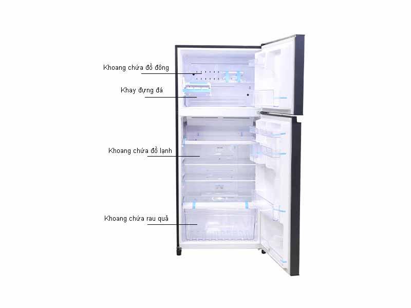 Tủ lạnh Inverter Toshiba GRHG55VDZGG - Màu Xanh Đen
