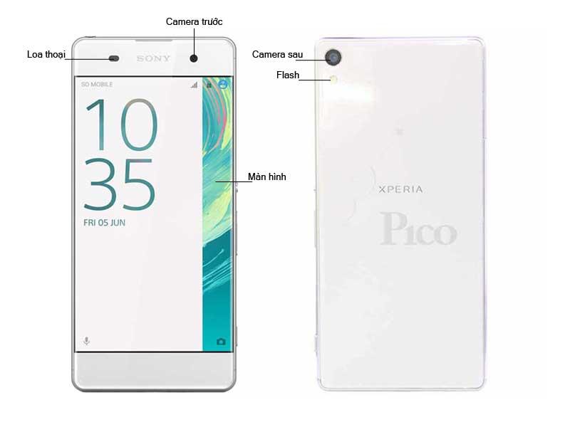 Điện thoại sony Xperia XA Ultra - Màu Trắng