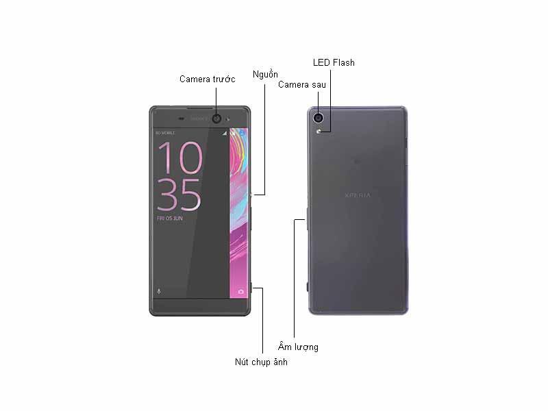 Điện thoại sony Xperia XA Ultra - Màu Đen