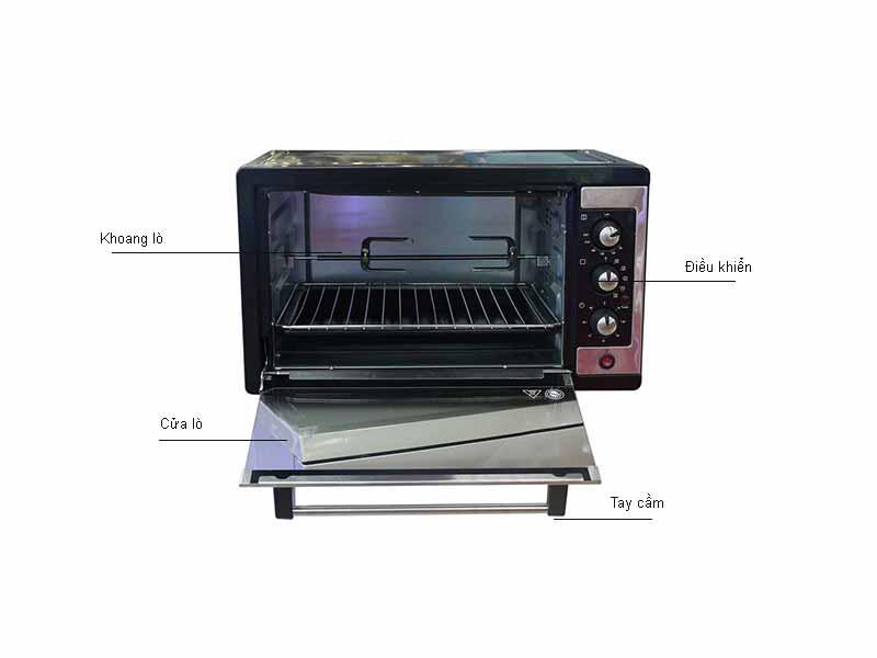 Lò nướng Electrolux ZOT105KX - Màu đen