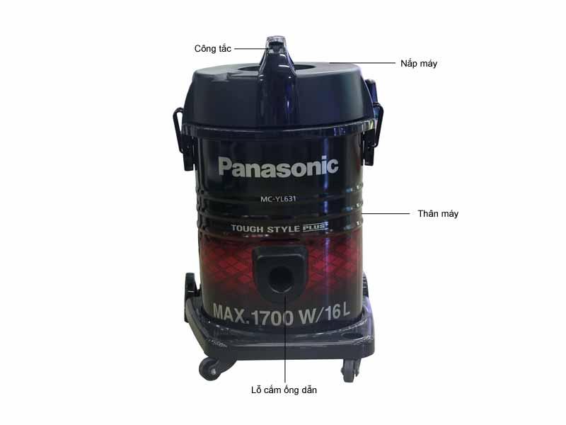Máy hút bụi công nghiệp Panasonic MC-YL631