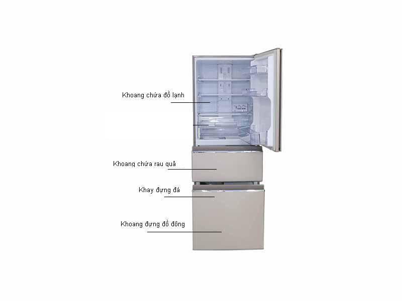 Tủ Lạnh Inverter Mitsubishi MRCX46EJPSV
