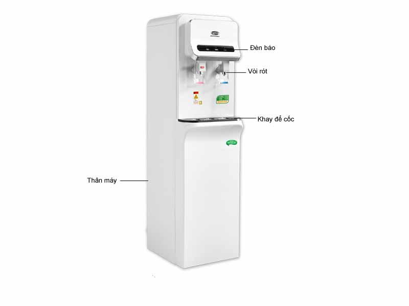 Máy lọc nước nóng lạnh CNC 800S - Màu trắng
