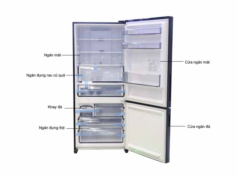 Tủ Lạnh Panasonic NR-BX468GKVN 405 Inverter