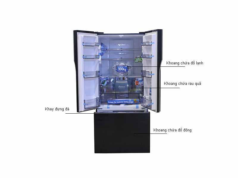 Tủ lạnh Inverter Panasonic NR-CY557GKVN