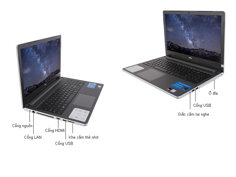 Laptop Dell Inspiron N5559D P51F004-TI78102