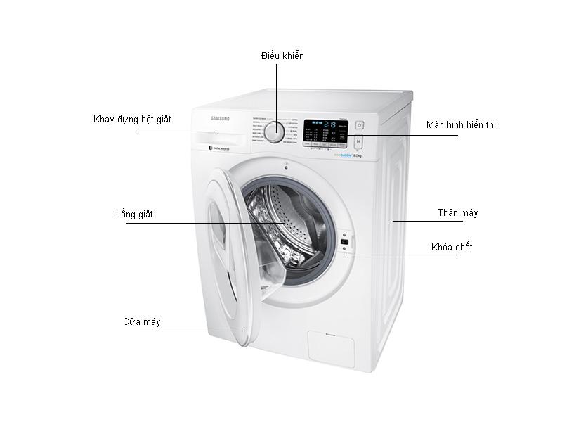 Máy giặt  lồng ngang Samsung  WW80K5410WW - 8kg