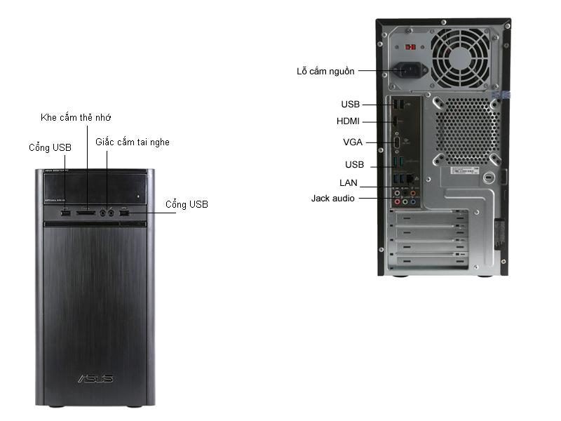 Máy tính để bàn ASUS K31CD-VN016D
