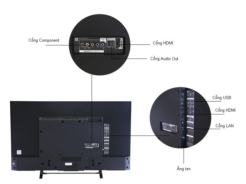 TIVI LED Sony KD49X8000D 49 inch